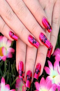 Nail Art Design Gold