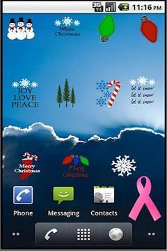 Christmas Decor Sticker Pack