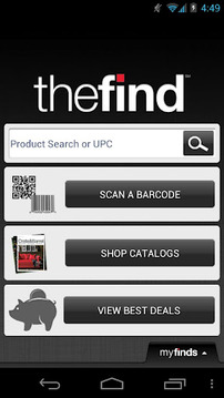 Catalog Shopping. Scan. Search