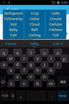 Cellular big keyboard (Free)