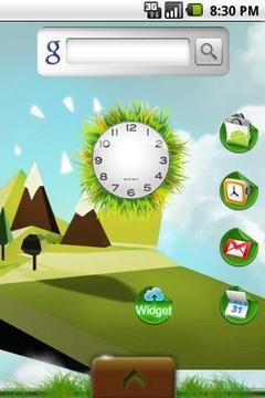 Illustration Theme Green