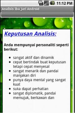 Analisis Ibu Jari Android