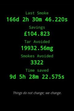 上一次抽烟是什么时候?