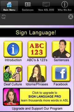 Sign Language!
