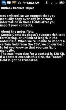 Contact Helper