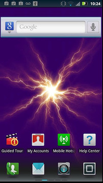 Plasma Disk live wallpaper