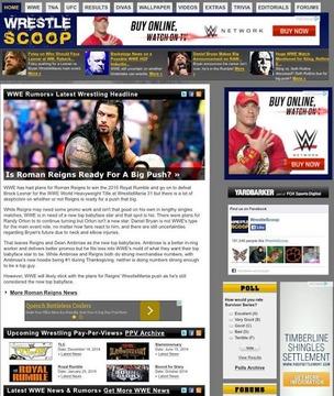 WrestleScoop
