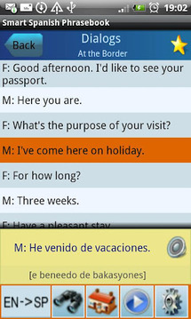 Smart Spanish Phrasebook Lite