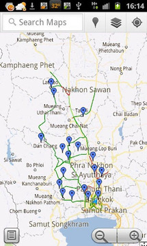 Thailand Flood Maps 2011