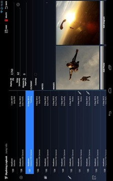 Skydiving Logbook