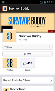 Survivor Buddy (CBS)