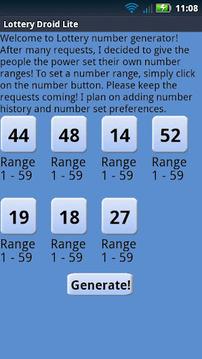 Ohio Lottery Droid Lite