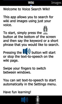 Wikipedia Voice Search