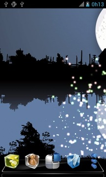 Fireflies Free Live Wallpaper