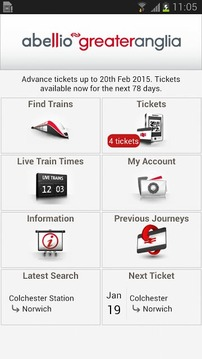Greater Anglia Tickets