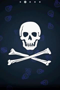 Pirate Skull Live Wallpaper