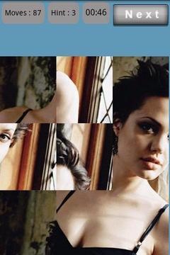 Puzzle : Angelina Jolie