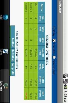 BetStats Lite - bet tracker