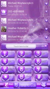 Purple Haze GO Contacts EX