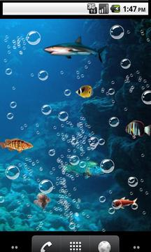 Deep sea fishing Live Wallpape