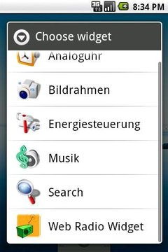 Web Radio Widget (Demo)