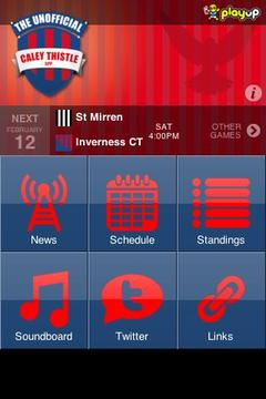 Caley Thistle App