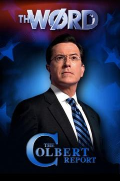 The Colbert Report's The Word