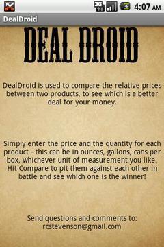 DealDroid