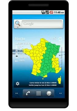 Vigilance Météo France