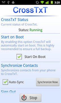 CrossTxT - SMS from Computer