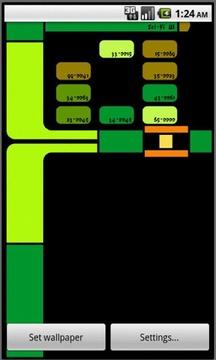 Sci-Fi UI Live Wallpaper Lite