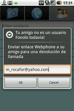 Fonomas网络电话 - 免费电话