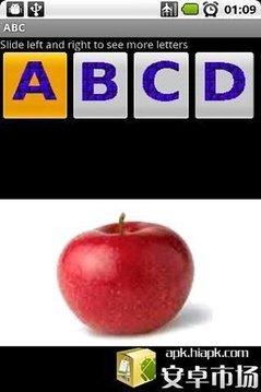 ABC字母单词表