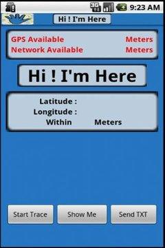 Hi I'm Here - Locate See Share
