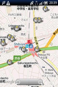 电源マップ