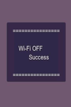 WiFi 开/关交替转换 Toggle ON/OFF