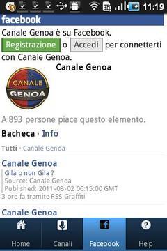 Canale Genoa