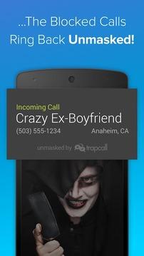 TrapCall: Unmask Blocked Calls