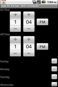 WiFi Scheduler