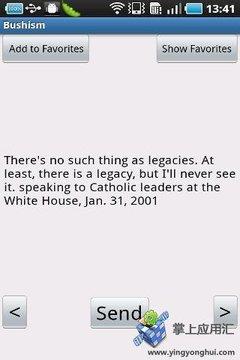 美国总统小布什语录