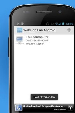 Wake on Lan Android