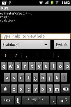 Brainfuck REPL Module