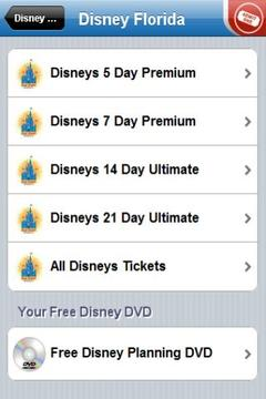 Theme Park Tickets - Disney +