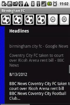 Birmingham City FC News 2012