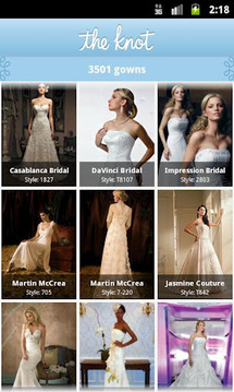Wedding Dress Look Book