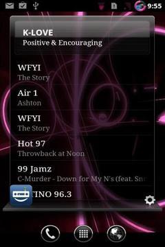 EB RadioWidget