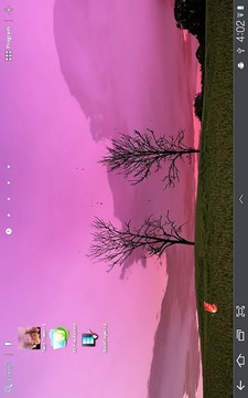 Twin Trees - Live Wallpaper