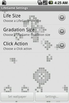 LifeGame Live Wallpaper Lite