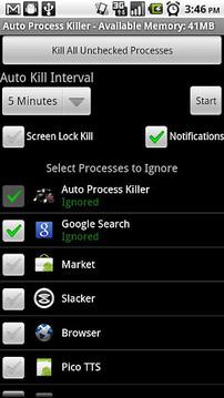 Auto Process Killer Free -1.5+