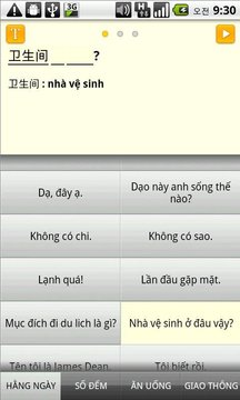 hội thoại tiếng Trung Quốc